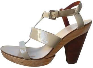 Givenchy Beige Patent leather Sandals