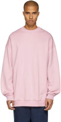 Marques Almeida Pink Oversized Sweatshirt