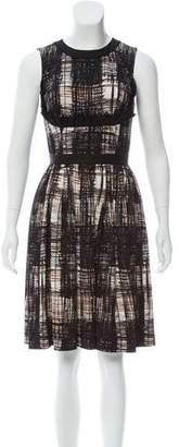 Prada Sleeveless Printed Dress