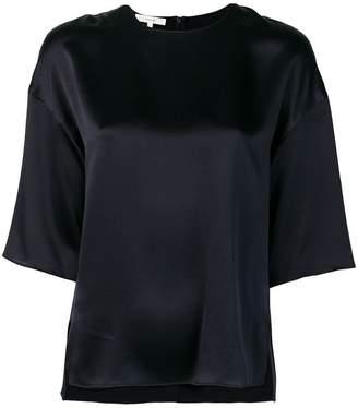 Vince side slit blouse