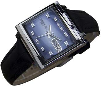 Seiko 5 Actus Stainless Steel Vintage 34mm Mens Watch