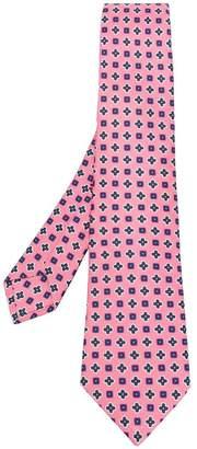 Kiton all over print tie