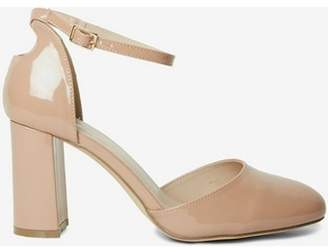Dorothy Perkins Womens Wide Fit Nude 'Deena' Court Shoes
