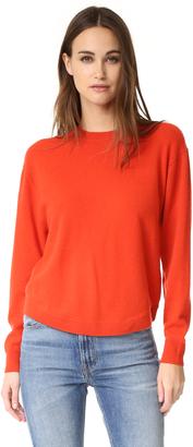 Vince Cashmere Crew Neck Sweater $320 thestylecure.com