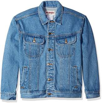 Wrangler Men's Classic Denim Jacket-Motorcycle Edition