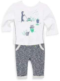 Catimini Baby's and Toddler's Top and Sweatpants Set