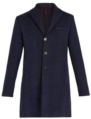 Harris Wharf London - Herringbone Virgin Wool Jacket - Mens - Navy
