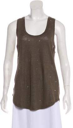 Black Orchid Distressed Sleeveless Top