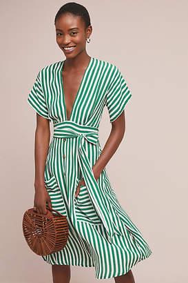 Faithfull Nancy Striped Shirtdress