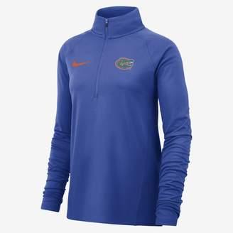 Nike Women's Long-Sleeve 1/2-Zip Top College Therma (Clemson)