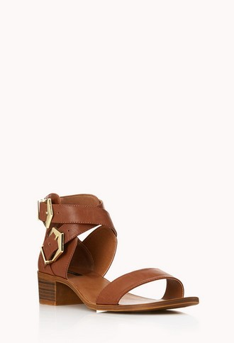 Forever 21 Must-Have Buckled Sandals