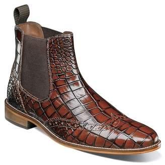 Stacy Adams Frontera Croc Embossed Chelsea Boot