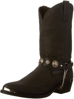"""Dingo Men's Concho Strap 12"""" Boot"""