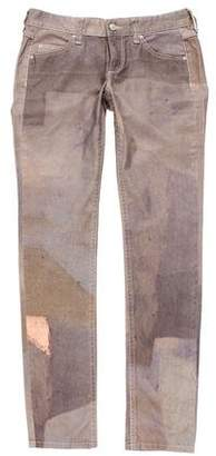 Isabel Marant Distressed Printed Jeans w/ Tags