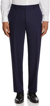 Canali Stretch Mélange Classic Fit Trousers $395 thestylecure.com