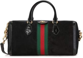 Gucci Ophidia Boston suede bag