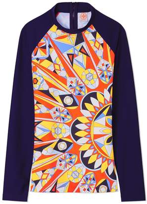 Tory Burch KALEIDOSCOPE SURF SHIRT