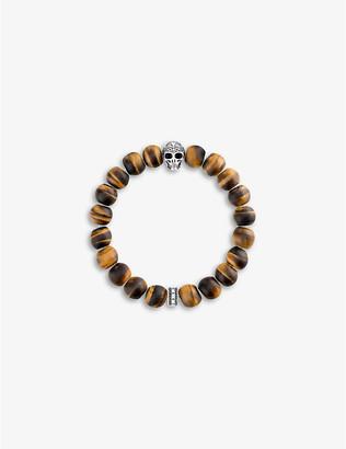 Thomas Sabo Rebel at Heart skull beaded bracelet