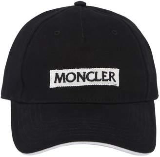 Moncler Logo Embroidered Hat