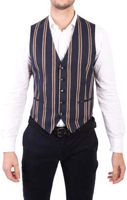 Tagliatore Cotton And Linen Waistcoat