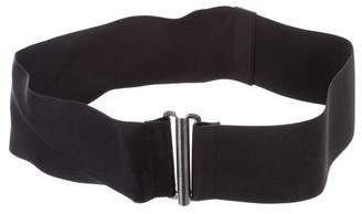 Lanvin Satin Waist Belt