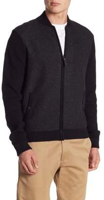 Ted Baker Sorbet Contrast Knit Bomber Jacket