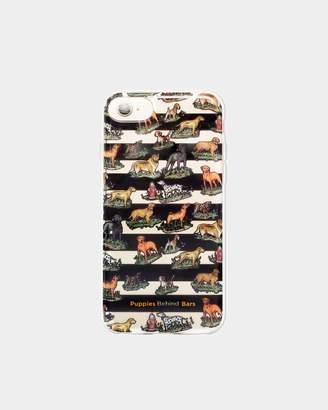 Nicole Miller Puppies Behind Bars Iphone 7 Case