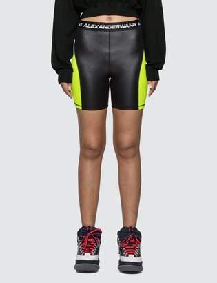 Alexander Wang Alexander Wang.T Wash & Go Satin Jersey Biker Shorts