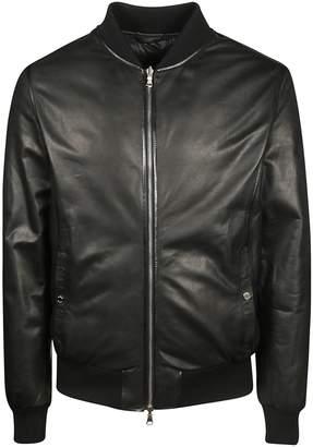 Barba Napoli Classic Leather Jacket