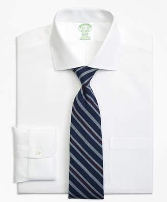 Brooks Brothers Milano Slim-Fit Dress Shirt, Non-Iron Dobby Diamond