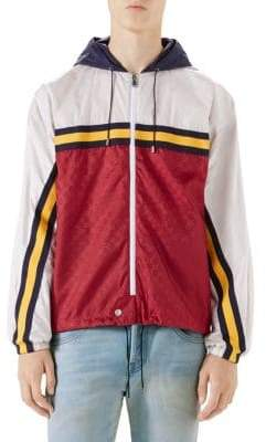 Gucci Colorblock Guccy Zip Jacket