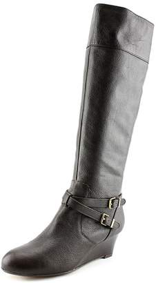 Giani Bernini Kalie Wide Calf Women US 8.5 Brown Knee High Boot