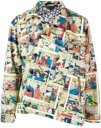 Comme des Garcons pop art print jacket