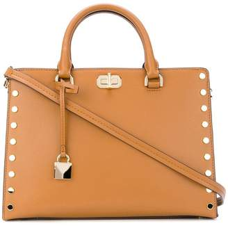 MICHAEL Michael Kors large Sylvie studded satchel