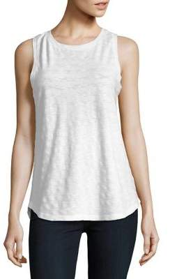 Lord & Taylor Petite Textured Sleeveless Tank