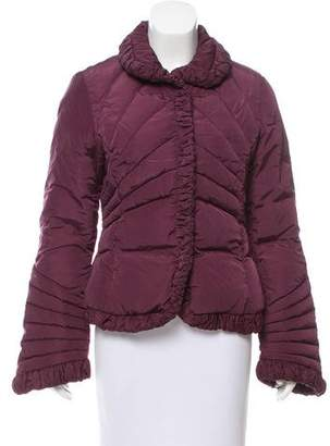 Moncler Ruched Puffer Coat