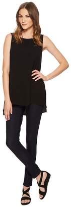 Eileen Fisher Skinny Jeans in Indigo Organic Cotton Soft Stretch Denim Women's Jeans