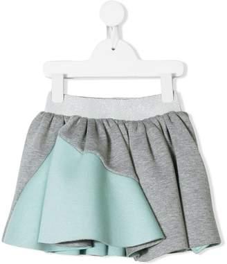 Raspberry Plum Flore skirt