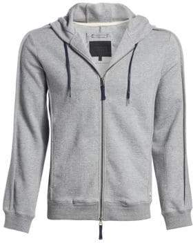 Madison Supply Cotton-Blend Zip-Up Hoodie
