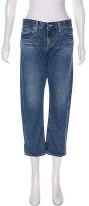 Adriano Goldschmied Tomboy Crop Mid-Rise Jeans