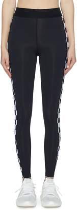 Abysse 'Junko' checkerboard outseam performance leggings