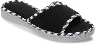 Dearfoams Terry Slide Slipper - Women's