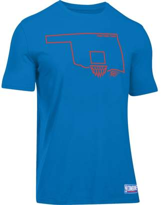 Under Armour Men's Oklahoma City Thunder Charged State Tee
