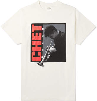 Noon Goons + Chet Baker Printed Cotton-Jersey T-Shirt