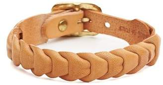 Il Bisonte Fishscale Cowhide Bracelet in Natural