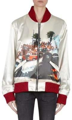 Palm Angels Riot Souvenir Bomber Jacket