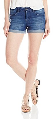 Kensie Jeans Women's Three-Roll Cuff Short $48 thestylecure.com