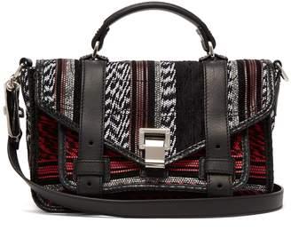 Proenza Schouler PS1 woven cross-body bag