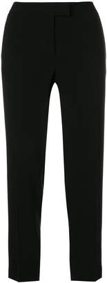 Alberto Biani side stripe cropped trousers