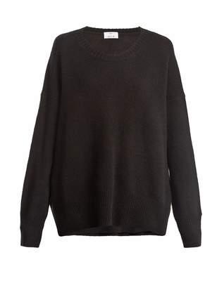 Allude Round neck cashmere sweater